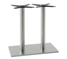 Image for Inox Double Table Base