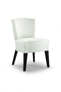 Contract side chair for commercial setting