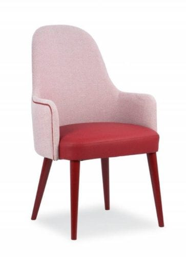 contract armchair for commercial areas
