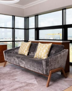 Vanity Sofa - Hotel furniture suppliers to Hilton Belfast